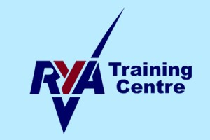 RYA Training logo blu bg