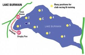Llake Burwain map