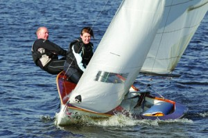 Learn to sail at Burwain Lancashire