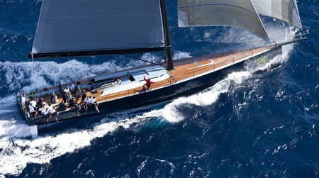 Dobson on yacht