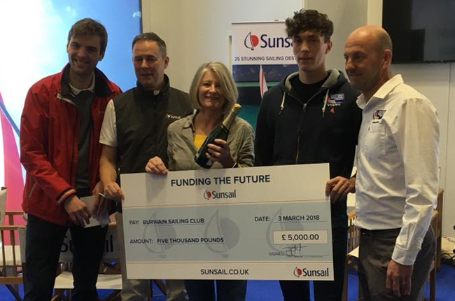 burwain SC wins Sunsail competition