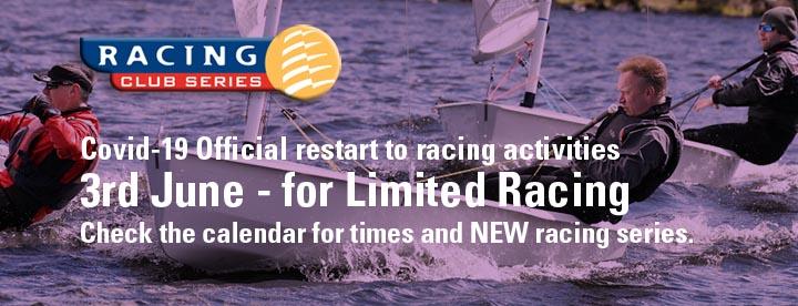 Covid main graphic racing restart